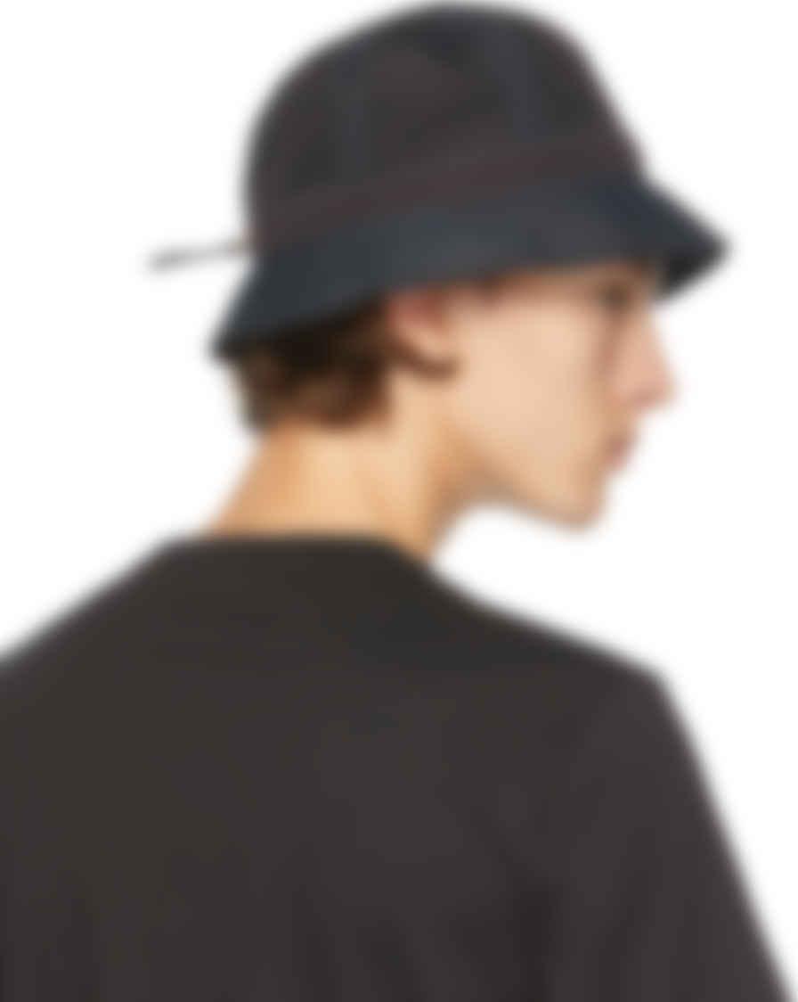 Paul Smith Yellow Linen Bucket Hat