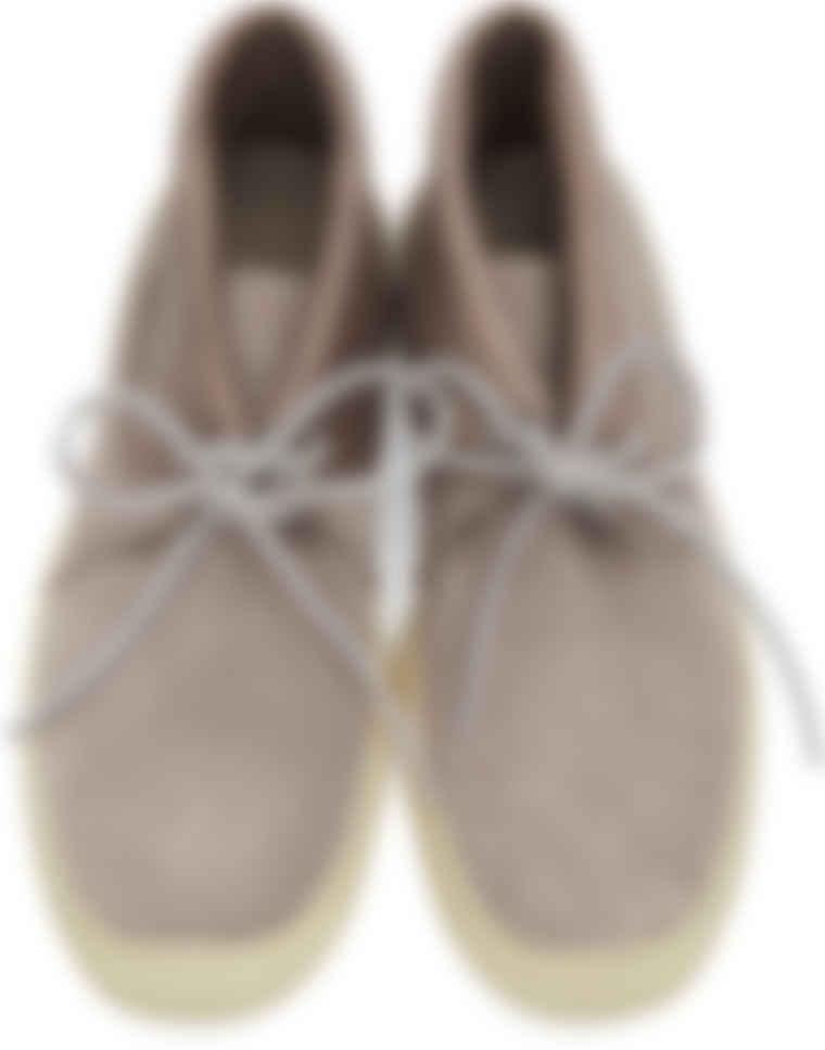 Visvim - Grey Flynt II Folk Sneakers