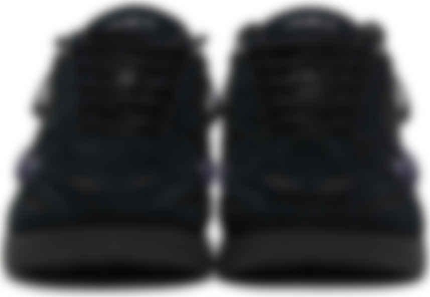 Black Suede Cylon21 Sneakers