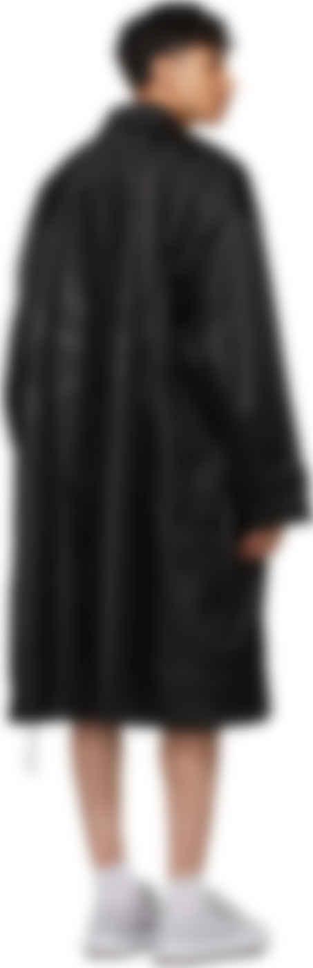 mastermind JAPAN - Black Nylon Coat