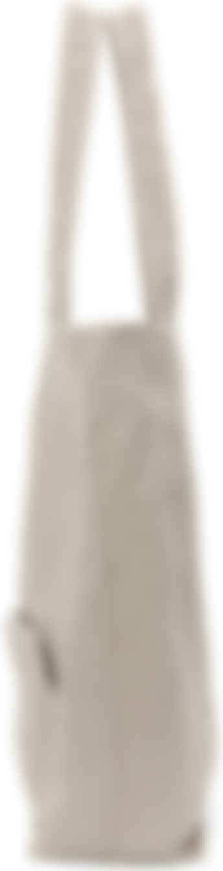 Yohji Yamamoto - Beige Linen 'discord' Clasp Tote