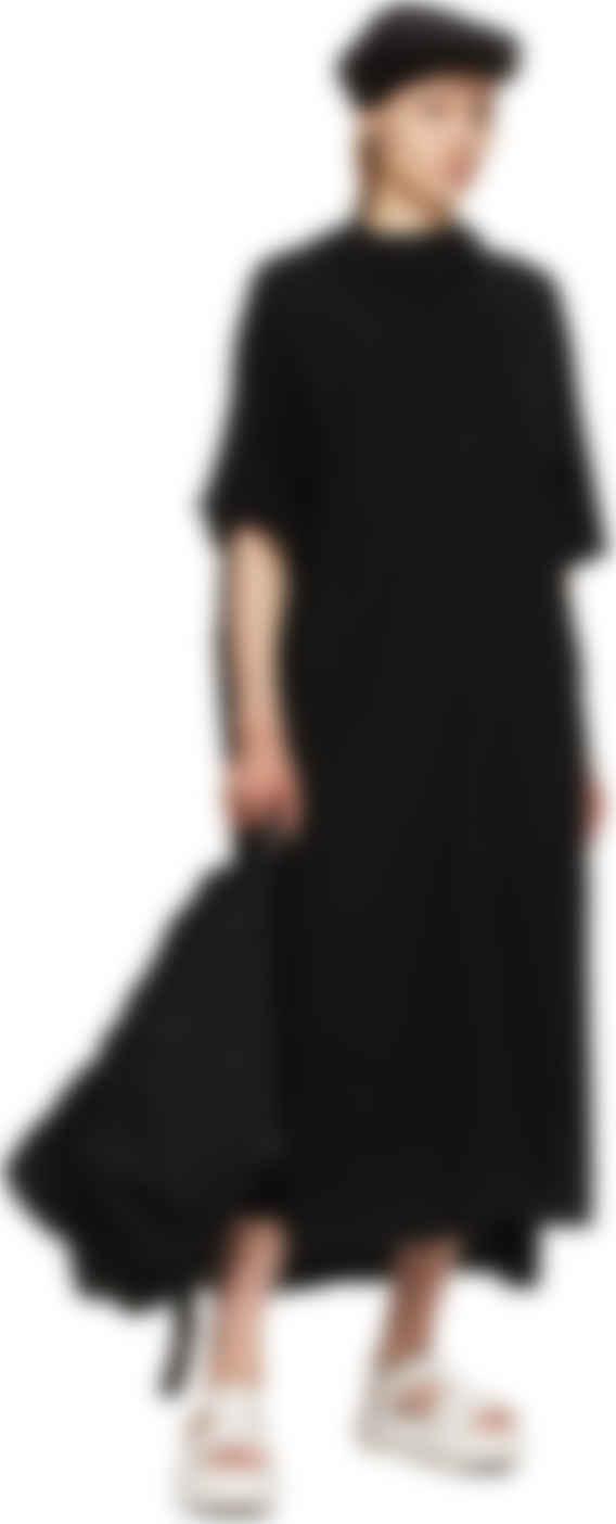 Yohji Yamamoto - Black 30 Ultima Hooded Long Dress