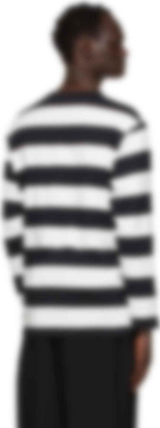 Vintage Yohji Yamamoto Y/'sacss Stripes Long Sleeve