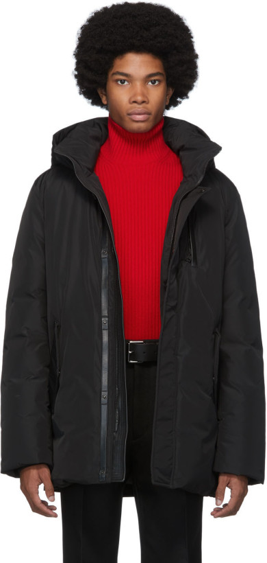 Mackage Black Down Classic Jacket