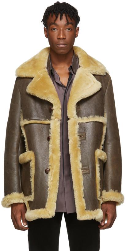 Schott Rancher Shearling Coat
