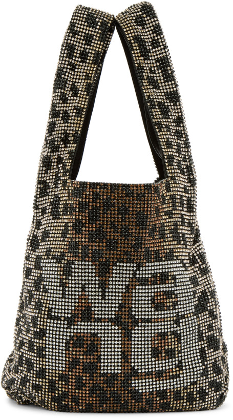 Alexander Wang Brown & Black Wangloc Shopper Bag